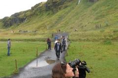 Joelle Picturing Seljalandsfoss