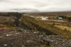 The Great Rift, Almannagjá, at Þingvellir National Park