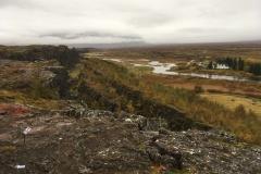The Great Rift, Almannagjá, at Þingvellir National Park