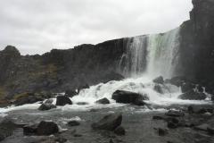 Öxarárfoss, first of many (many) waterfalls