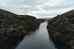 Sifra Fissure, at Þingvellir National Park