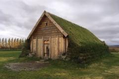 Turf House at Skálholt Church