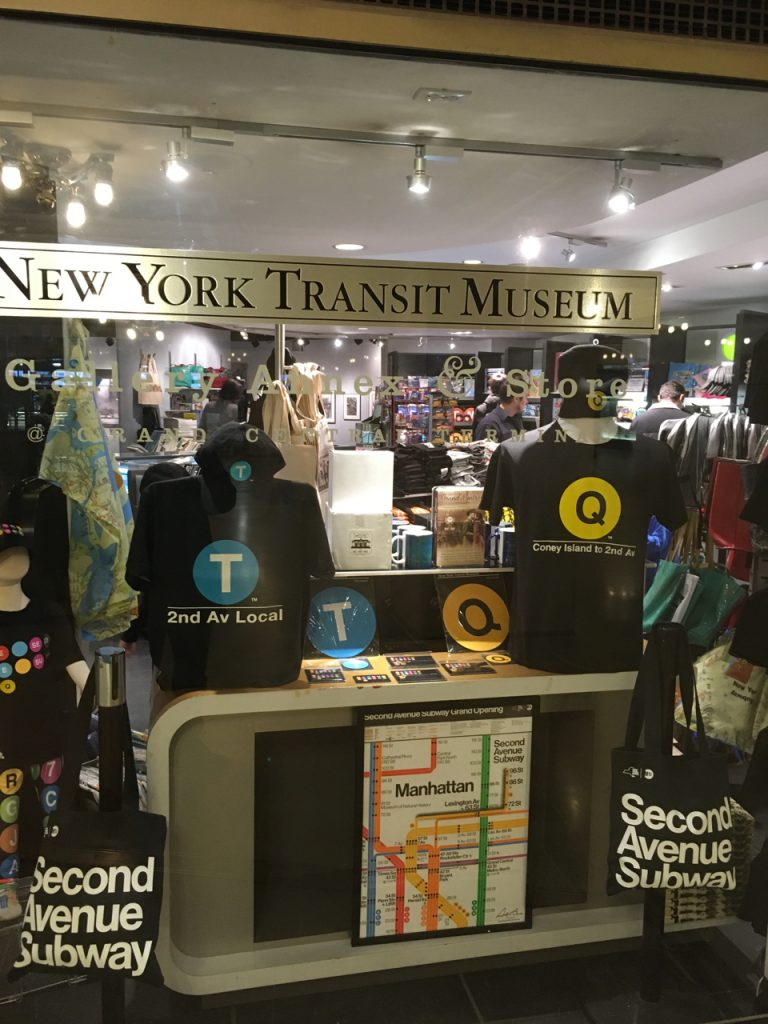 Transit museum at grand central terminal gothamjoe for Ny transit museum store